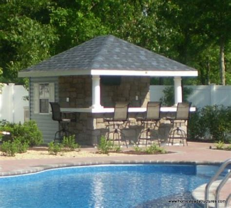 pool sheds with bars 10 x 12 siesta poolside bar vinyl siding outdoor