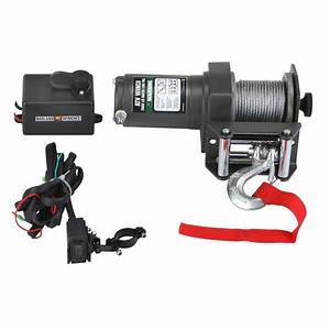 Find 2000 Lb  Electric Atv  Utv Winch With Automatic Load