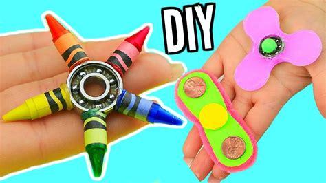 diy fidget spinners  ways    fidget spinner toy