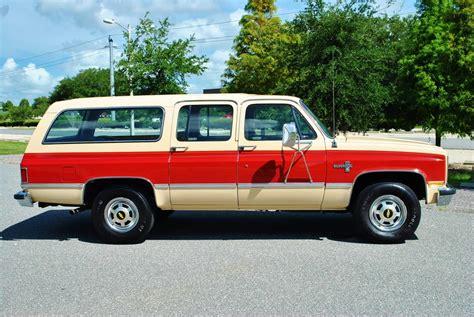 42,500 Miles! 1984 Chevrolet Suburban Silverado