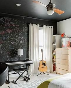 Tableau Deco Maison : l 39 ardoise murale noire un objet de d co pour votre int rieur ~ Teatrodelosmanantiales.com Idées de Décoration