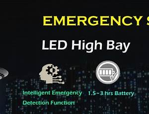 Lightide Released Emergency Led Canopy Lights