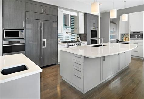 gray and white kitchen ideas 20 stylish ways to work with gray kitchen cabinets