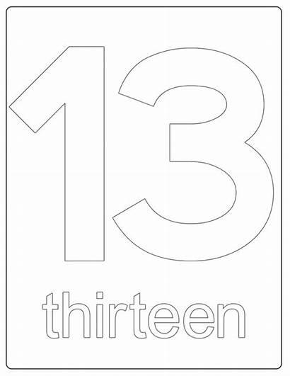 Number Coloring Printable Worksheets Numbers Sheet Worksheet