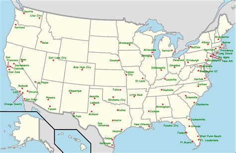 maps update 720502 southwest airlines travel map