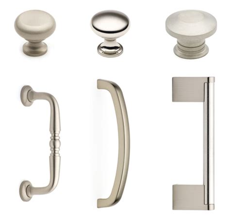 brushed nickel cabinet knob polished nickel finish cliffside industries top quality