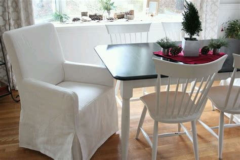 Dining Room Chair Slipcovers With Arms Chair Covers Design