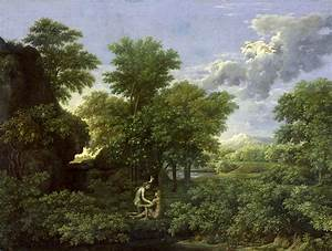The Garden Of Eden Painting by Nicolas Poussin