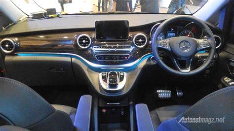 Gambar Mobil Mercedes V Class by Dashboard Navigasi Mercedes V Class 2016