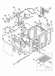 Kenmore Elite 11067042600 Dryer Parts