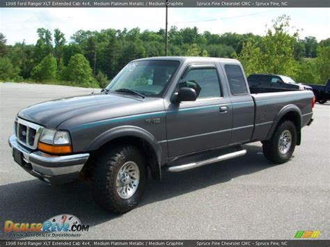 1998 ford ranger xlt extended cab 4x4 medium platinum metallic medium graphite photo 10