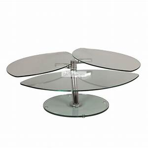 Table Basse Design Verre : table basse en verre design lys et tables basse design eda concept transparente modulable ~ Teatrodelosmanantiales.com Idées de Décoration