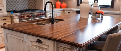 Customizable Butcher Block Countertops  Rustica Hardware