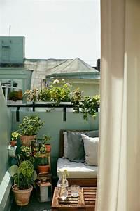 Balkon Bank Klein : 17 beste idee n over klein balkon op pinterest klein ~ Michelbontemps.com Haus und Dekorationen