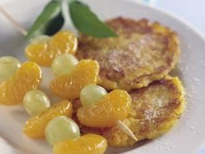 Kartoffel Kürbis Puffer : kartoffel k rbis puffer mit obstspie en rezept eat smarter ~ Lizthompson.info Haus und Dekorationen