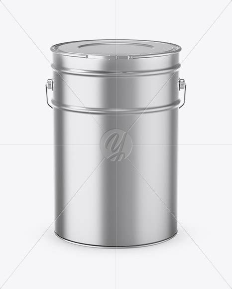 The psd file is easy and fully editable with smart objects. 20L Metallic Paint Bucket Mockup in Bucket & Pail Mockups ...