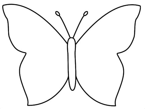 Butterfly Template Free 30 butterfly templates printable crafts colouring