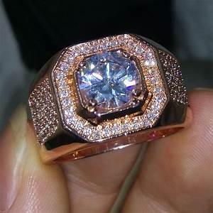 Mens Simulated Diamond Rings | Wedding, Promise, Diamond ...