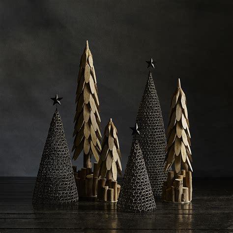 buy nordal rattanmetal christmas tree decoration medium
