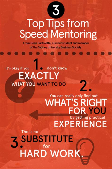 18 Best Speedy Tips Images The Big Opportunity 3 Top Tips From Speed Mentoring