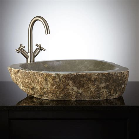 stone vessel sinks cheap manning natural stone vessel sink