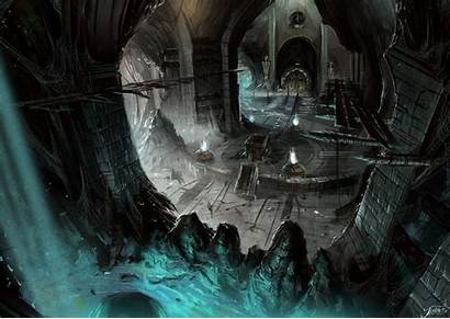 Concept Deadpool Background Cavern Backgrounds Fantasy Dark