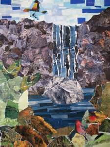 Collage Landscapes Artists
