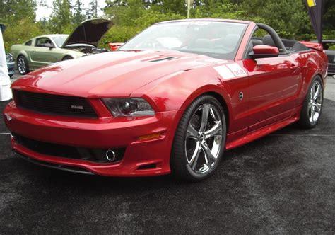 2011 Saleen Sms 302 Mustang Convertible At Mustangs
