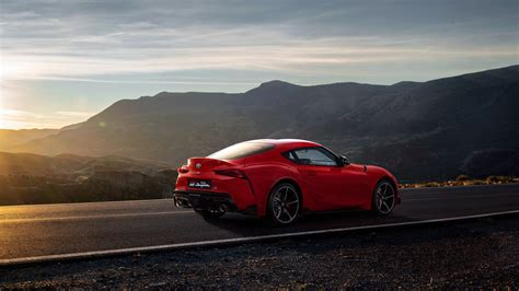 2020 Toyota Supra Desktop Wallpaper by Wallpaper Toyota Supra A90 2020 Cars 2019 Detroit Auto