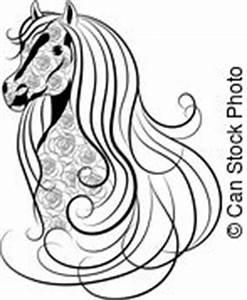 Pferdekopf Schwarz Weiß : pferdekopf abbildung hand profil vektor zaum zeichnung pferdekopf abbildung hand ~ Watch28wear.com Haus und Dekorationen