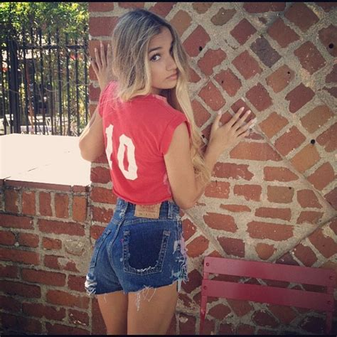 Pia Mia Perez Booty In Shorts Instagram Picture August