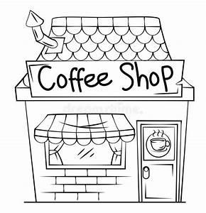 Coffee Shop Stock Vector