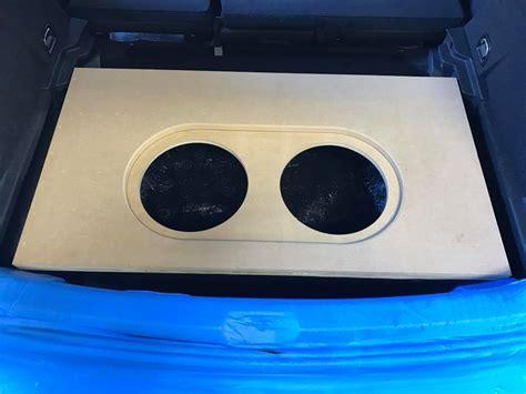 volkswagen vw golf fiberglass box installation  spare