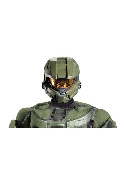 master chief halo full men helmet video game costumes