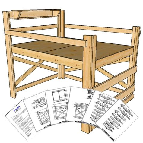 size loft bed plans size loft bed plans medium height op loftbed