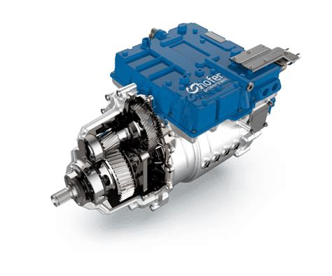 Automotive Electric Motor by Electric Drive Unit Hofer Powertrain