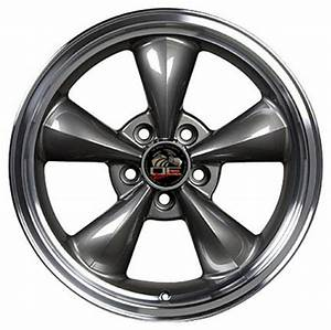 Anthracite Wheels Toyo Tires fit Ford Mustang FR01 17x8 Bullitt Style