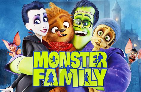 Monster Family (2017) 720p