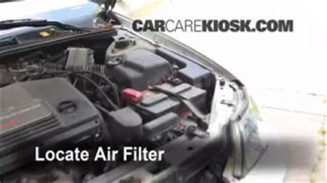 Fuel Filter Location 2000 Avalon by Check The Belts 2000 2004 Toyota Avalon 2000 Toyota