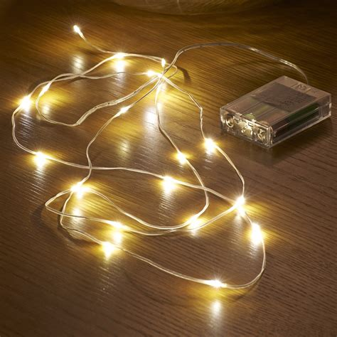 micro led string lights battery operated 2 3m