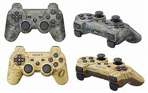 Sony Unveils Camouflage Dualshock 3 Controllers - Technabob