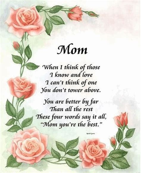 mothers day poems  fathers day