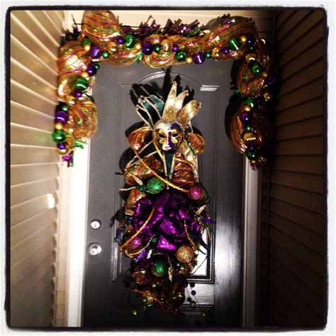 mardi gras decorations decorating pinterest