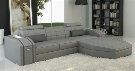 canap gris d angle deco in canape d angle cuir design gris jupiter