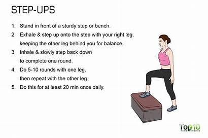 Step Bigger Hips Butt Exercise Workout Fast
