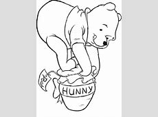 Ausmalbilder kostenlos Winnie Pooh Baby 1 Ausmalbilder