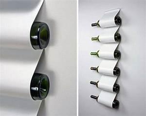 Range Bouteille Mural : le rangement bouteilles de vin concepts modernes ~ Teatrodelosmanantiales.com Idées de Décoration