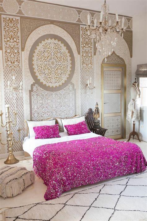d馗oration chambre orientale papier peint chambre maroc raliss com