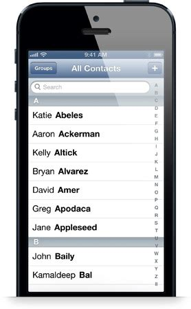 contacts on iphone transfer and import csv contacts to iphone 5