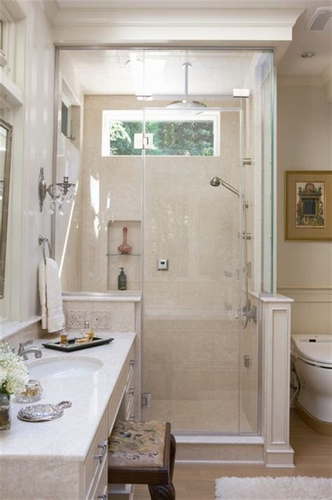 small master bath in chevy traditional bathroom